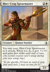 Rhet-Crop Spearmaster - Amonkhet