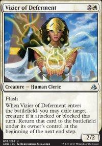 Vizier of Deferment - Amonkhet