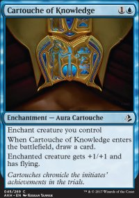 Cartouche of Knowledge - Amonkhet