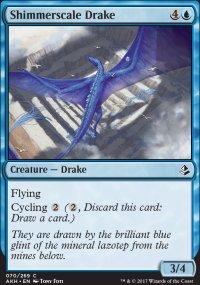 Shimmerscale Drake - Amonkhet