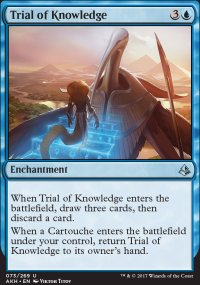 Trial of Knowledge - Amonkhet