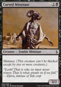 Cursed Minotaur - Amonkhet