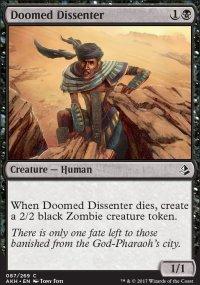Doomed Dissenter - Amonkhet