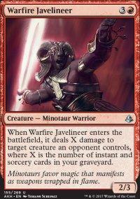 Warfire Javelineer - Amonkhet