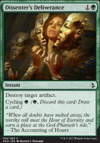 Dissenter's Deliverance - Amonkhet