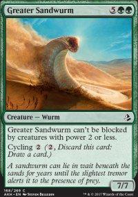 Greater Sandwurm - Amonkhet
