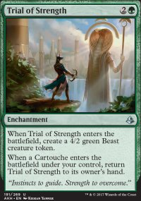 Trial of Strength - Amonkhet