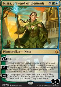 Nissa, Steward of Elements - Amonkhet