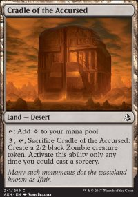 Cradle of the Accursed - Amonkhet