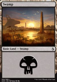 Swamp 3 - Amonkhet