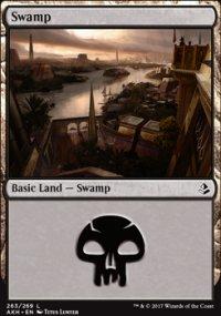 Swamp 4 - Amonkhet