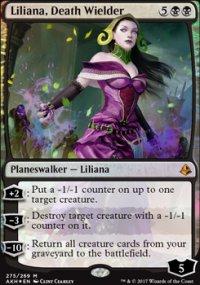 Liliana, Death Wielder - Amonkhet