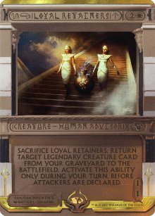 Loyal Retainers - Amonkhet Invocations