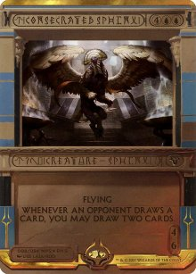 Consecrated Sphinx - Amonkhet Invocations
