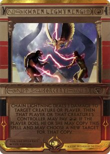 Chain Lightning - Amonkhet Invocations