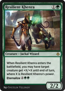 Resilient Khenra - Amonkhet Remastered