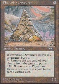 Phyrexian Devourer - Alliances