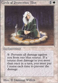 Circle of Protection: Blue - Limited (Alpha)
