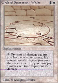 Circle of Protection: White - Limited (Alpha)