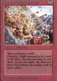 Dwarven Demolition Team - Limited (Alpha)