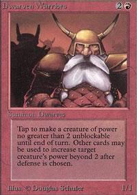 Dwarven Warriors - Limited (Alpha)