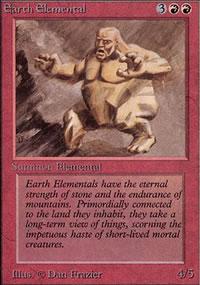 Earth Elemental - Limited (Alpha)