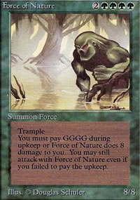 Force of Nature - Limited (Alpha)