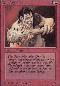 Gray Ogre - Limited (Alpha)