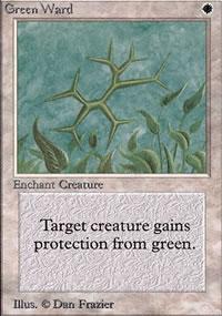 Green Ward - Limited (Alpha)