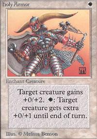 Holy Armor - Limited (Alpha)