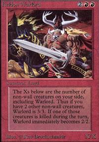 Keldon Warlord - Limited (Alpha)