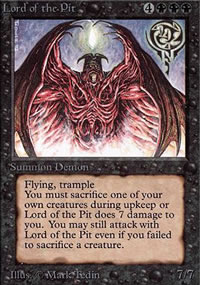Lord of the Pit - Limited (Alpha)