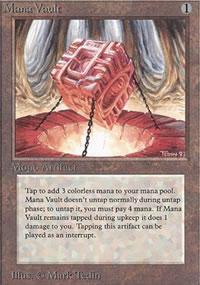 Mana Vault - Limited (Alpha)