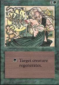 Regeneration - Limited (Alpha)