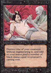 Sacrifice - Limited (Alpha)