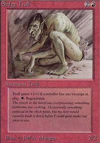 Sedge Troll - Limited (Alpha)