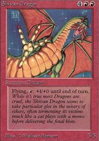 Shivan Dragon - Limited (Alpha)