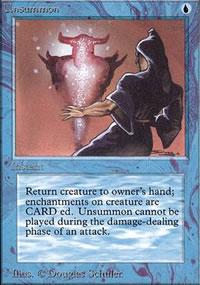 Unsummon - Limited (Alpha)