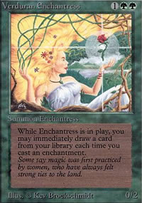 Verduran Enchantress - Limited (Alpha)