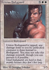 Veteran Bodyguard - Limited (Alpha)