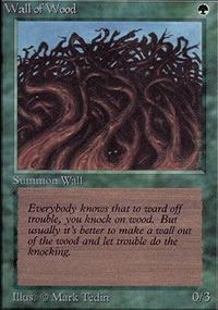Wall of Wood - Limited (Alpha)