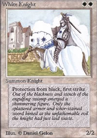 White Knight - Limited (Alpha)