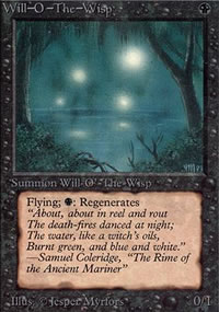 Will-o'-the-Wisp - Limited (Alpha)