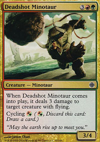 Deadshot Minotaur - Alara Reborn