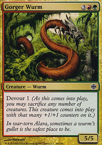 Gorger Wurm - Alara Reborn