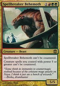 Spellbreaker Behemoth - Alara Reborn