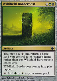 Wildfield Borderpost - Alara Reborn