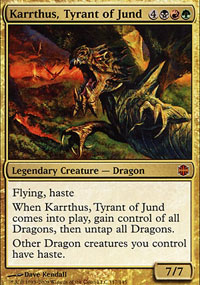 Karrthus, Tyrant of Jund - Alara Reborn