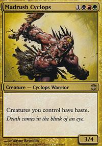 Madrush Cyclops - Alara Reborn
