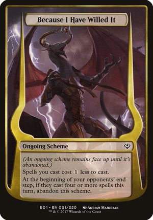 Because I Have Willed It - Archenemy: Nicol Bolas